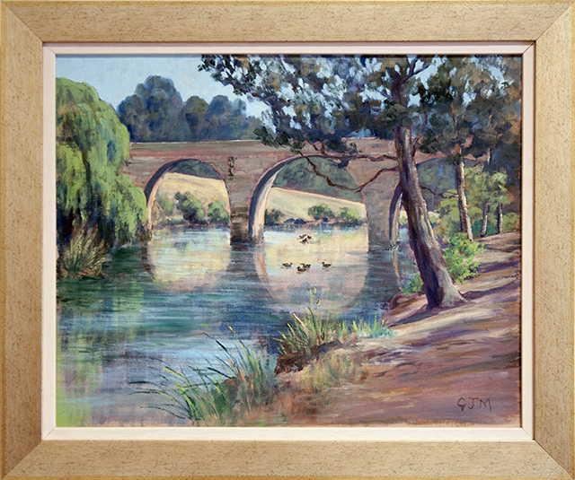 Gerald Moore - The Duck Pond Burra - Oil - $320 640