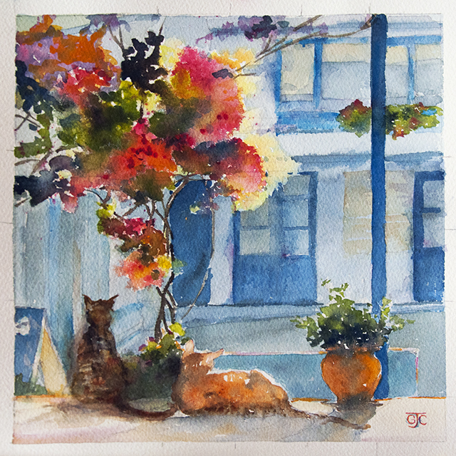 Glenys Christopher - cats