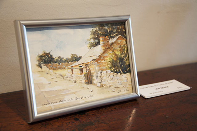 Len Bence - Hampton Cottage - Watercolour - $100