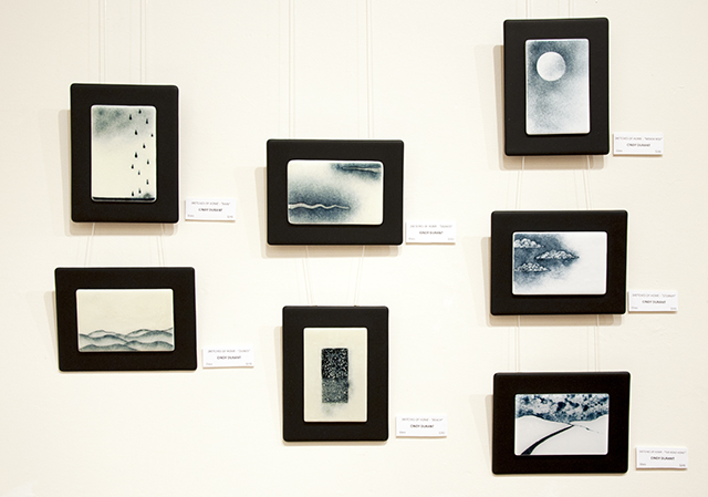 Cindy Durant - Sketches of Home - Glass - $242 each