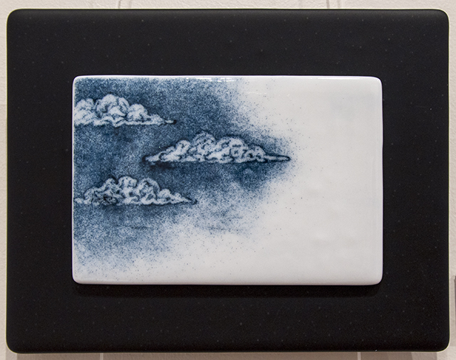 Cindy Durant - Sketches of Home - Stormy - Glass - $242