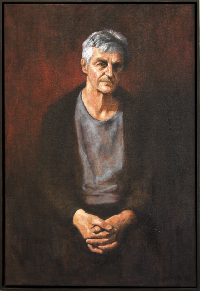 Michael Hocking - The Draughtsman Steven 2 - Oil on linen - $900