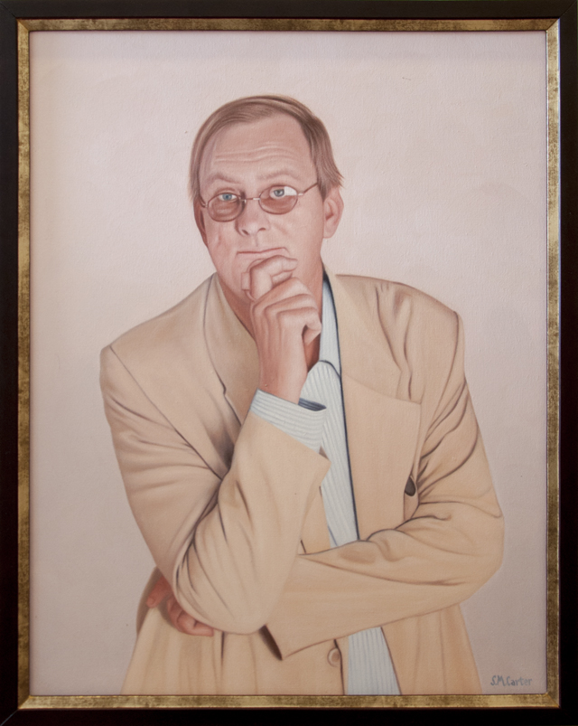Sam Carter - Peter Goers - After the show - Oil on Canvas - $498
