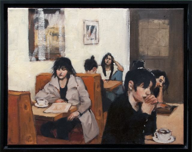 Lorraine Lewitzka - Morning Break - Oil - $550 SOLD