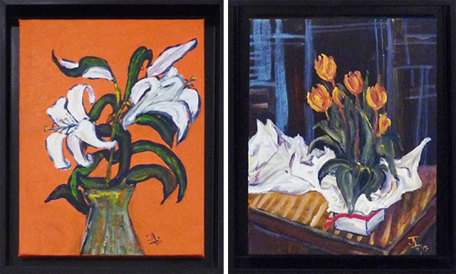 Janette Ireland - Oriental Lilly & A Gift of Tulip