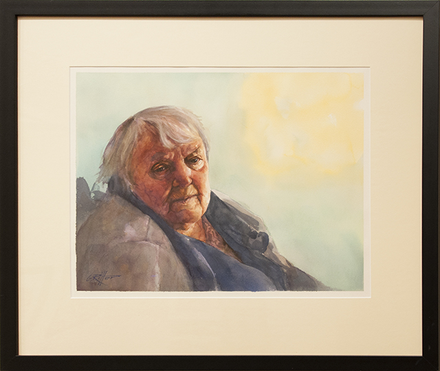 Gerhard Ritter - Resigned - Watercolour - $1800