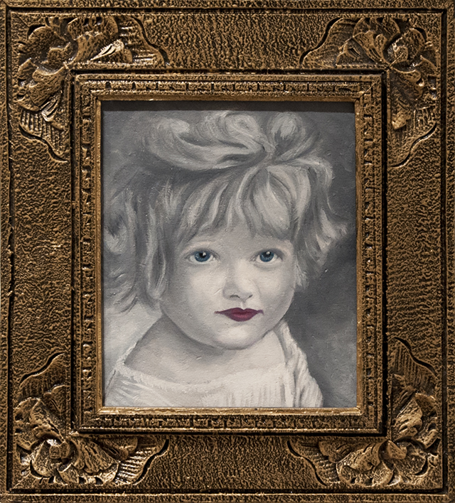 Jen Searle - Muffin - Oil - $375