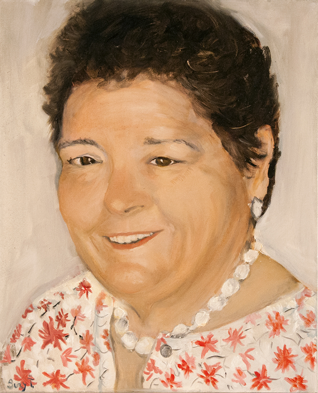 Suzy Tilley - Local Identity - Oil - NFS