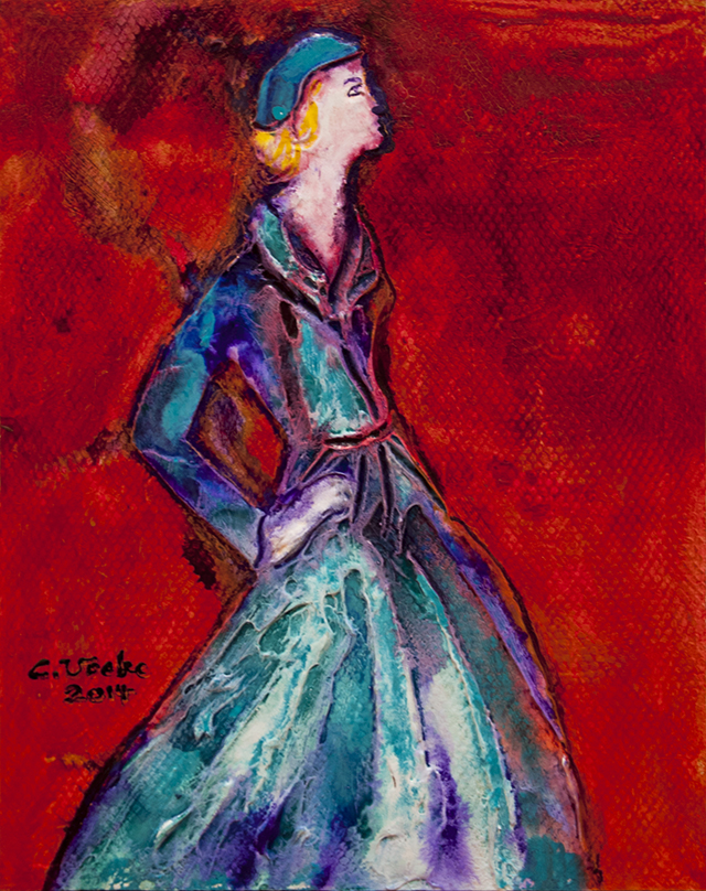 Christian Vocke - Retro Fashion - Acrylic - $90