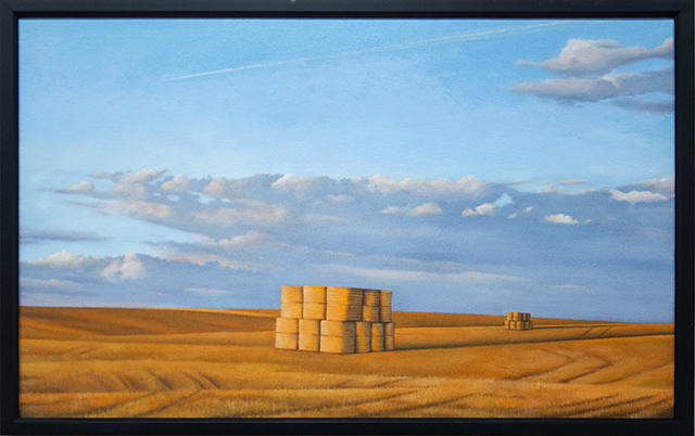 Russell Philip - On the Way Home - Oil on Canvas - $950