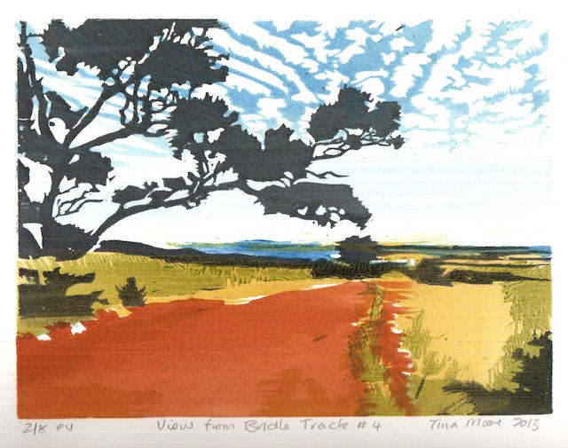 Tina Moore - View from Bridle track #4