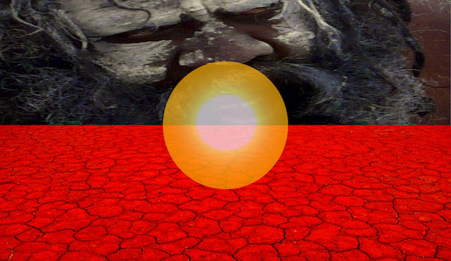 Ab-origin The land we live on–under the same sun–all of us people / Outback NFS