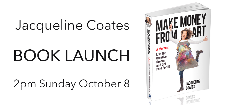 Jacqueline Coates – Make Money from Art – Book Launch