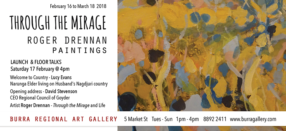 Through the Mirage – Roger Drennan Paintings