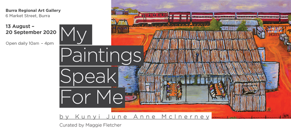Kunyi June Anne McInerney: My Paintings Speak For Me